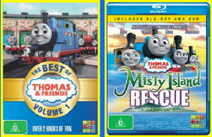 ABC's The Best of Thomas and Misty Island Rescue
