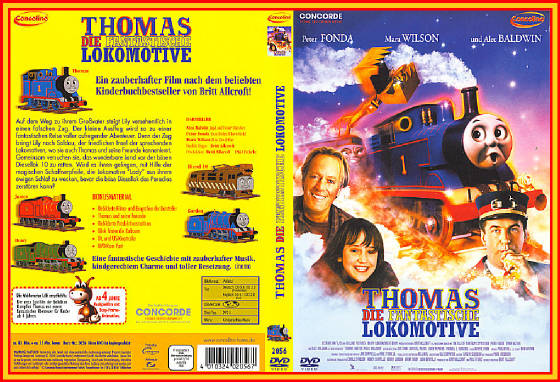 German DVD Edition of Thomas and the Magic Railroa