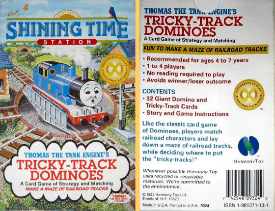 Thomas the Tank Engine's Tricky Track Dominoes