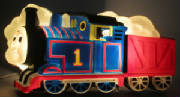 Thomas the Tank Engine Lighted Wall Sculpture