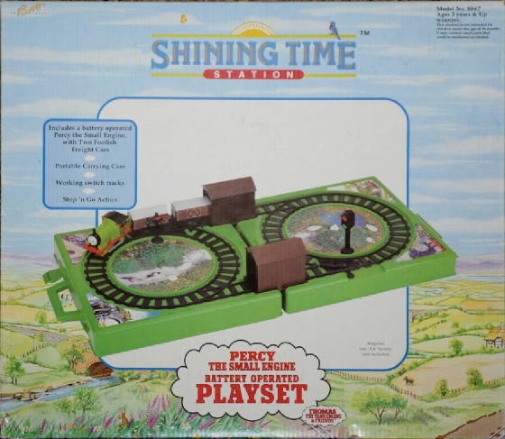 Nylint Percy the Small Engine Battery Op. Playset