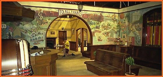Shining Time Station interior set
