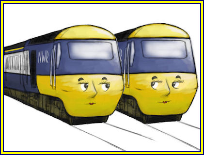 Pip and Emma the HST