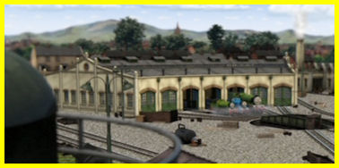 One morning, the engines were at Tidmouth Sheds