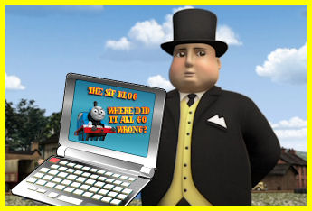 The King of Nigeria needs Sir Topham's credit card