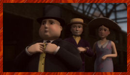 The Fat Controller is thrilled to hear about Hiro