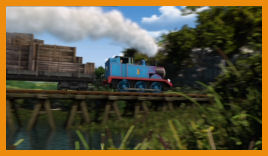 Thomas puffs into uncharted territory!