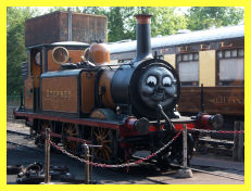 Stepney stands at Sheffield Park