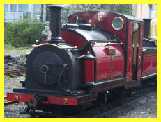 Ffestiniog No.2 - Prince at Harbour Station