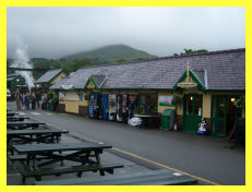 Llanberis Station on the Snowdon Mountain Railway