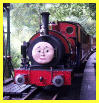Sir Handel at Dolgoch Falls