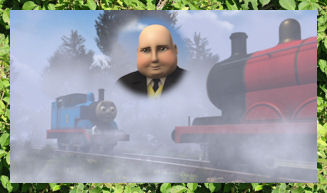 Thomas finds his friends in Echo Valley