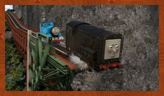 Thomas saves Diesel from disaster