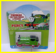 Percy in the mid-1990s packaging