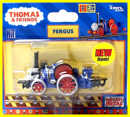 Fergus in the final edition packaging
