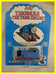 An original Thomas with sticker-face