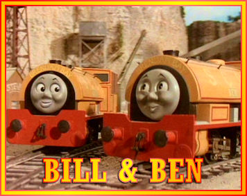 Bill and Ben the Tank Engine Twins