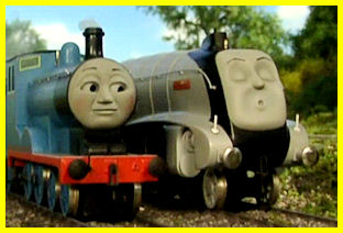 Edward passes the sleepy Spencer!