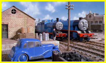 Gordon hisses Edward as he passes