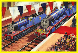 Gordon pulls the Royal Train
