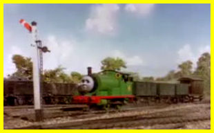Percy and the 'backing signal'
