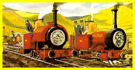 Rheneas disapproved of young Skarloey's attitude