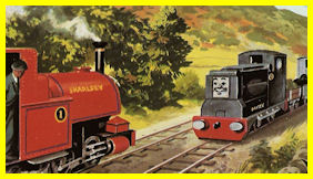 Rusty repaired the Skarloey Railway as good as new