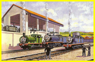 Percy, Edward and Thomas at Tidmouth