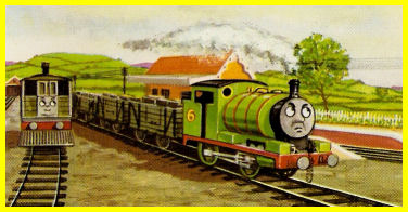 """A green caterpillar with red stripes,"" - W. Awdry"