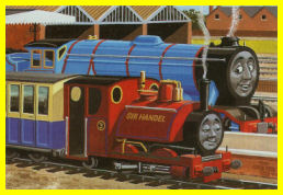 Sir Handel and Gordon