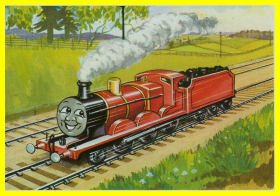 The famous red engine
