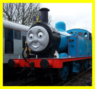 Thomas wears the SiF Express headboard!