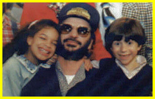 Ringo and the kids at Shining Time
