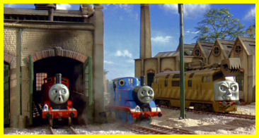 James, Thomas and the fearsome Diesel 10