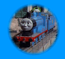 Edward puffs out of the sheds again