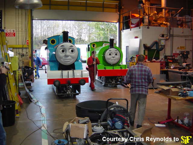 Big Live Tour stars Thomas and Percy