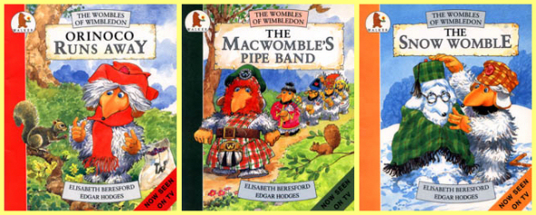Several Wombles books illustrated by Edgar
