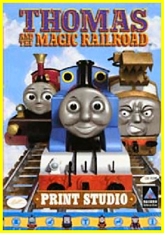 Thomas and the Magic Railroad Print Studio