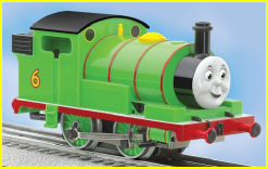 Lionel's O scale model of Percy
