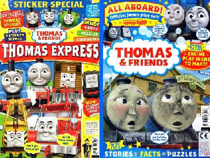 Thomas & Friends and Thomas Express magazines