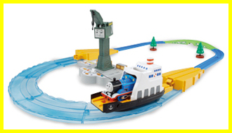 Japanese Plarail Misty Island Rescue set