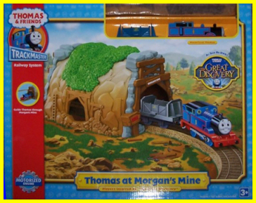 Trackmaster tie-in: Thomas and the Great Discovery