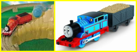 "Trackmaster ""James at Boulder Mountain"" , FP model"