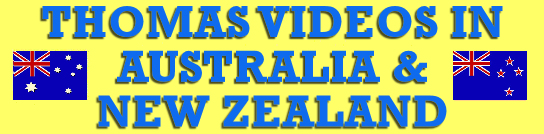 Thomas Videos in Australia & New Zealand