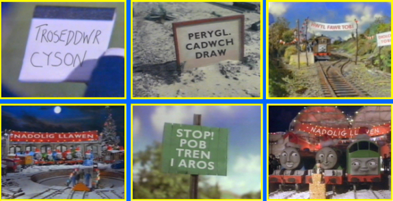 Welsh translated signs