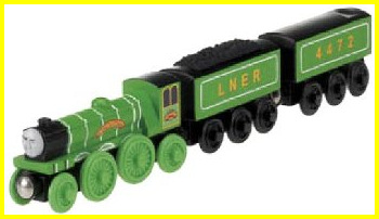 2013 re-release of Wooden Flying Scotsman