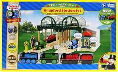 Wooden Railway Knapford Station Set