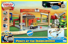 "Wooden Railway ""Percy at the Dieselworks"" (2011)"