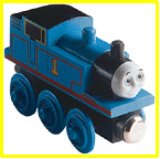 Early version of Wooden Railway Thomas