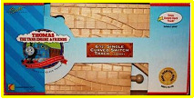 Wooden Railway track set